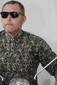 Paisley Shirt Buttoned up